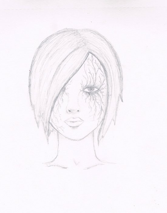 Another Girl. Art Print