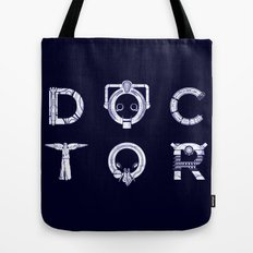 DOCTOR (Letters) Tote Bag