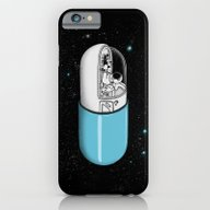 iPhone & iPod Case featuring Space Capsule by Jorge Lopez
