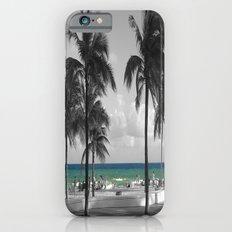 Miami Beach Florida Ocean iPhone 6 Slim Case