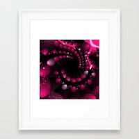 Berry Splash Framed Art Print