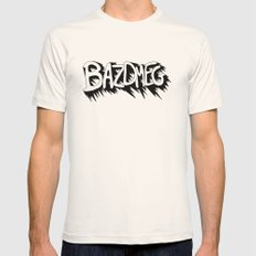 Bazdmeg Mens Fitted Tee Natural SMALL