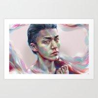 Anger in My Soul Art Print