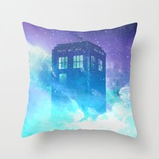 BBC Doctor Who Tardis Throw Pillow