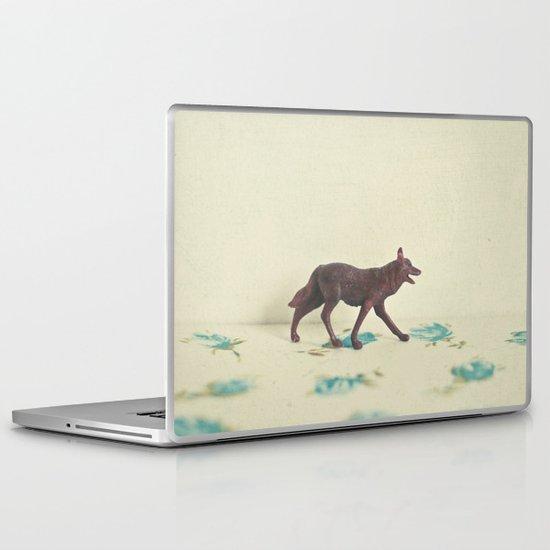 Wandering Wolf Laptop & iPad Skin