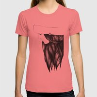 Snow Girl Womens Fitted Tee Pomegranate SMALL
