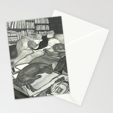 Edward Gorey Portrait Stationery Cards