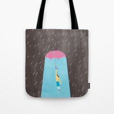 My heart is sunny day Tote Bag