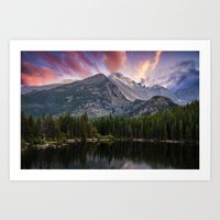 The Colorado Rockies Art Print