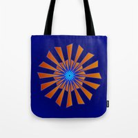 Spring Blue Tote Bag