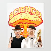 Mythbusters, for science! Canvas Print