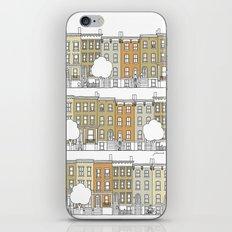 Blocks of Brooklyn (color) iPhone & iPod Skin