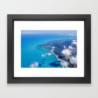 Coast of Mexico Framed Art Print