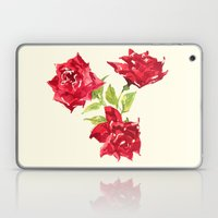 Three Red Roses Laptop & iPad Skin