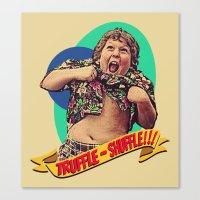 Truffle Shuffle! Canvas Print