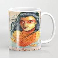 FIRE BIRD Mug