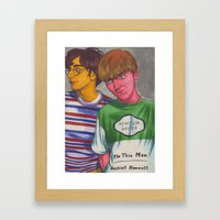 There's No Other Way Framed Art Print