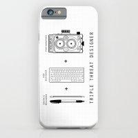 Triple Threat Designer iPhone 6 Slim Case