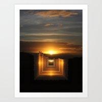 Catch A Little Sunrise A… Art Print