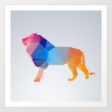 Glass Animal Series - Lion Art Print
