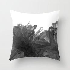 Crystal Galaxy Throw Pillow