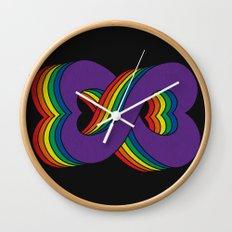 Infinite Love Wall Clock