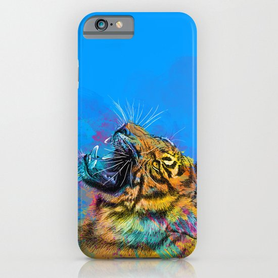 Angry Tiger iPhone & iPod Case