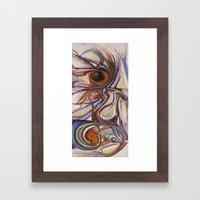 El Hambre es peluda Framed Art Print