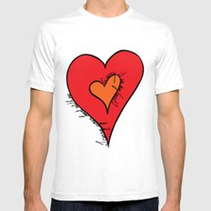 I carry your heart Mens Fitted Tee SMALL White