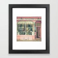 Sweet Cafe Framed Art Print