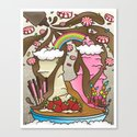 My Sundae Daydream Canvas Print