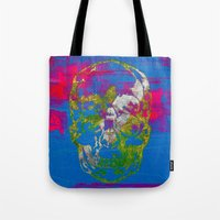 The 4i Skull - Mixed Med… Tote Bag