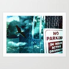 No Flying  Art Print