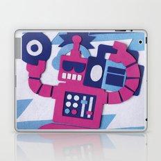 Stereo Bot Laptop & iPad Skin