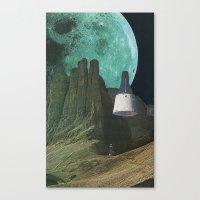 Månen (Luna) Canvas Print