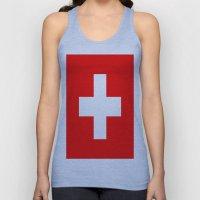 Flag Of Switzerland Unisex Tank Top