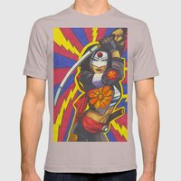 Katana Mens Fitted Tee Cinder SMALL