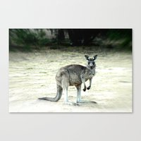 Big Grey Canvas Print