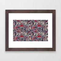 I'm Sensing A Pattern He… Framed Art Print