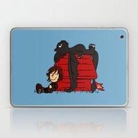 Dragon Peanuts Laptop & iPad Skin