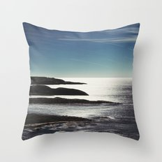 Fingers in the Atlantic Throw Pillow