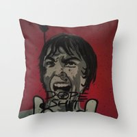 Scream For Dope Shit Throw Pillow