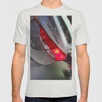 Hyundai Elantra Back Red… Mens Fitted Tee Silver SMALL