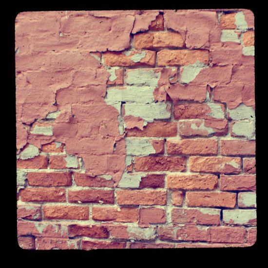 Old Bricks ttv photo Art Print