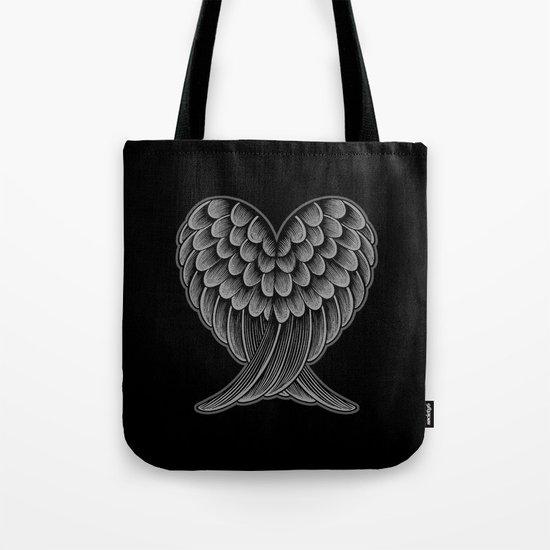 Heart Wings [Reversed Version] Tote Bag