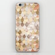 MERMAID GOLD iPhone & iPod Skin
