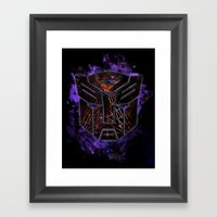 Autobots Abstractness - … Framed Art Print
