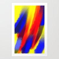 Flame Thrower Art Print
