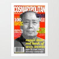 COSMARXPOLITAN, Issue 9 Art Print
