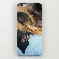 iPhone & iPod Skin featuring German Shepherd Dog by WOOF Factory